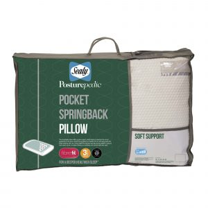 Sealy Posturepedic Pocket Springback Pillow
