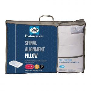 Sealy Spinal Alignment Pillow - 3cm