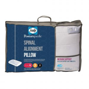 Sealy Spinal Alignment Pillow - 7cm
